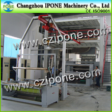 Hot Melt Extrusion PP / PE Coating Film Nonwoven Fabric Lamination Machine Supplier
