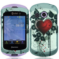 Alibaba Wholesale Sacred Heart Hard Plastic Cell Phone Case Cover for (AT&T) Pantech Swift 6020 [ free screen protector ]