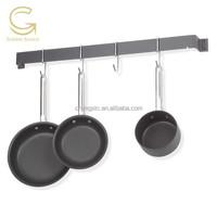 metal hook / kitchen stainless steel pot rack hook