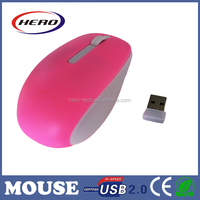 New arrival usb optical mouse wireless different colors