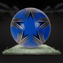 small bottom price pu leather laminated soccer ball