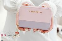 2015 Ladies PU Hardware Pendant Lovely Wallet