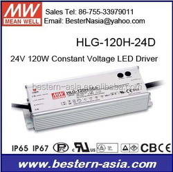 Dimming Driver for LED Lighting 120W Meanwell HLG-120H-24D