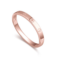 Hot Selling Wholesale Brand Famous Bangle Plated by Rose Gold