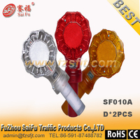 white led flash warning light w/yellow/red /blue/green four multi-color strobe warning light