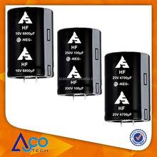 HF 100V 3300UF 30X50 Aluminum electrolytic capacitor