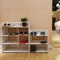 muebles para el hogar moderno blanco floding modular de zapatero