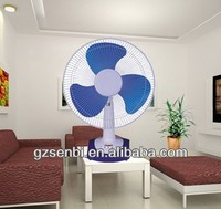 16 inch electric quiet plastic table fan 16