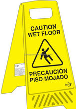 warning clean the floor sign