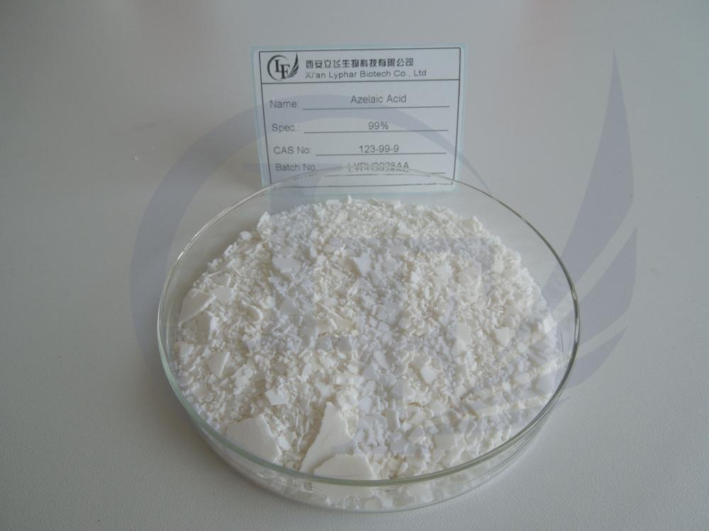 La meilleure Vente de Qualité Cosmétique 99% Azélaïque Acide