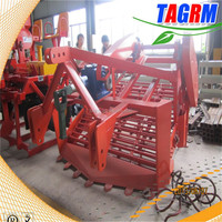 Tractor combine cassava root harvester MSU1600 for harvesting cassava,potato,peanut