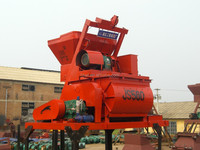 modifiable design mobile 380V JS750 shaft force mixer