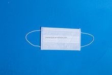 White 3 ply disposable non woven face mask with good quality for medical/ industryor daily use