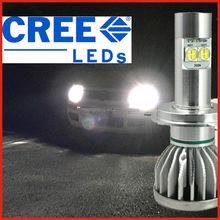 Super bright and 100% fitment H4 H7 H8 H9 H10 H11 9005 9006 D2S Hot Sell 60W 6000 Lumen Auto 60W LED Headlight