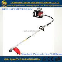 26mm Pipe Dia 33.6cc Float Type Carburetor Backpack Gasoline Brush Cutter Grass Trimmer Garden Tools