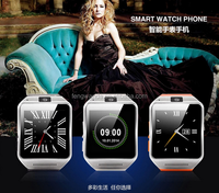 2015 Hot sale new model watch mobile phone GV08 smart watch phone