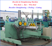 haige wire rod straightening and peeling and cutting machine line