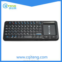 Mini 2.4GHz Wireless Touchpad Keyboard with Mouse for PC, PAD, XBox 360, PS3, Google Android TV Box, HTPC, IPTV