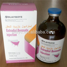 Estradiol benzoato de inyección de ganado