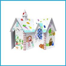 Indoor Cardboard Playhouse ,Wooden dolls houses