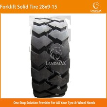 Forklift Tire 28x9-15 8.15-15 Solid Tire