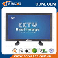 42 inch led cctv monitor wall mount security lcd monitor