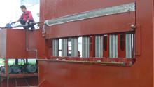 short cycle melamine lamination hot press machine / mdf board lamination hot press machine