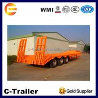 3 Axles 60 ton Excavator Semi Trailers for Sale