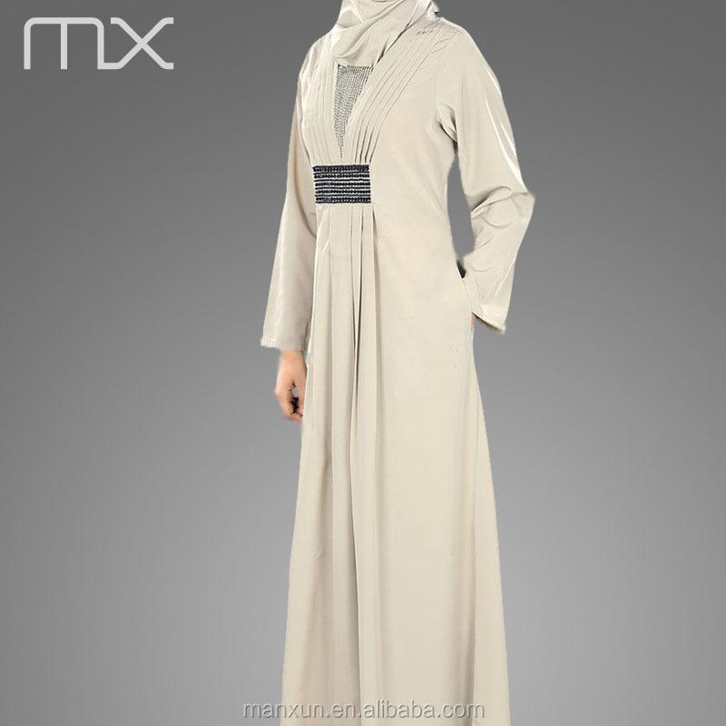 Wholesale Islamic Abaya Maxi Dress Elegant Muslim Women Long Dress ...
