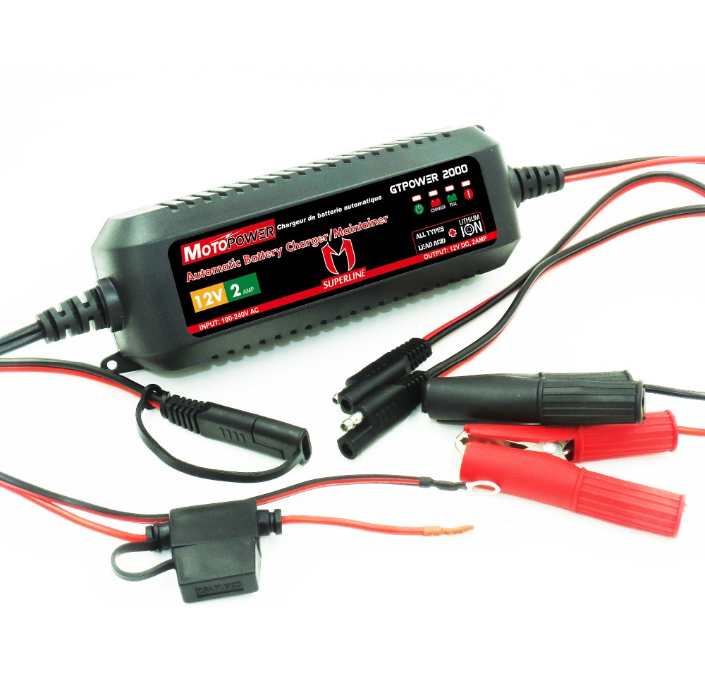 12v 2a automatic battery charger for both lead acid lithium battery charger ic lithium battery charger pack