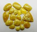 Forma Miel Opal Mix cabujón Natural Semi piedra preciosa