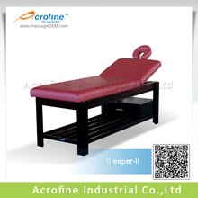 Acrofine High Quality Station II- Stationary Solid Wood Massage Table/Bed