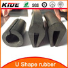 U channel rubber seal profiles rubber strip door seal