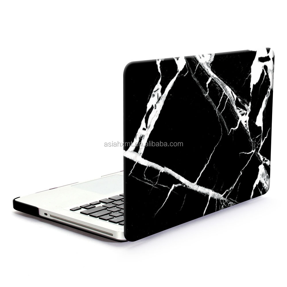 For Macbook Pro 13 Case,Hard Case Print Frosted For Macbook Pro 13,White Marble Pattern Hard