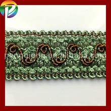 High quality venice lace trim fringe,trims of textile accessories,gimp fringe