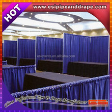 ESI Special Systems drape and pole kits Innovative Systems for Exhibition Trade Show Booth