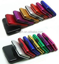 2 Pack aluminum Credit Card RFID Aluma Wallet Holder Id Case Assorted Colors