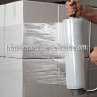 Stretch Film Type and Soft Hardness Temporary Floor Protective Stretch Film