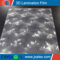 YP1209BH/90 micron PVC/50 micron PET,3D Big Cellular Cold Laminating Film Rolls Wholesale For Cold Laminator