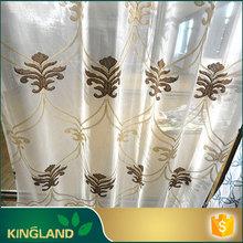 2015 nuevo producto árabe estilo único bordado cortinas de sala de estar