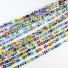 High quality single flower lampwork glass bead wholesale