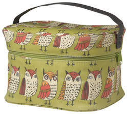 Full Color Owl Printing Tote Lunch Bag Oilcloth Waterproof Lunch Bag