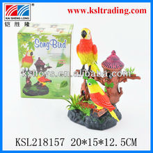 battery operated plastic toy bird