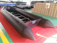 8m plywood floor inflatable boat 8 m rib hypalon inflatable boat