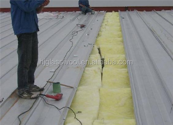 20kg/m3 non conductive materials glass wool felt