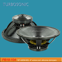 18 inch line array speaker sound system