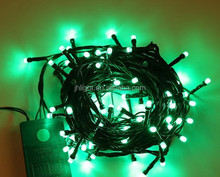 green christmas fairy string lights led garland