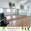 PVC material used dance floor for sale plastic floor covering