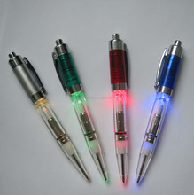 color blink led torch flashing light pen for promotion