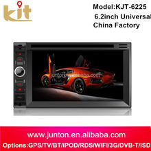 Quality assurance pioneer car dvd player with gps navigation system/bluetooth/TV function
